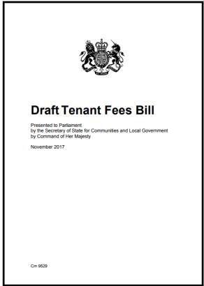 draft tenant fees bill